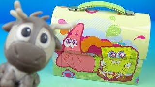 WHAT'S IN THE LUNCH BOX? - MYSTERY FAST FOOD TOY REVIEW - Episode 6