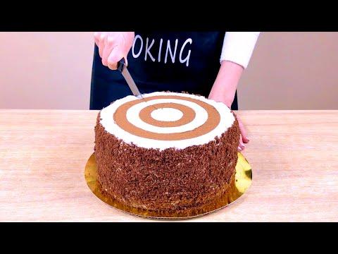 Торт «Зебра» /