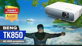 "4K HDR on 300""? - BenQ TK850 Projector Review"