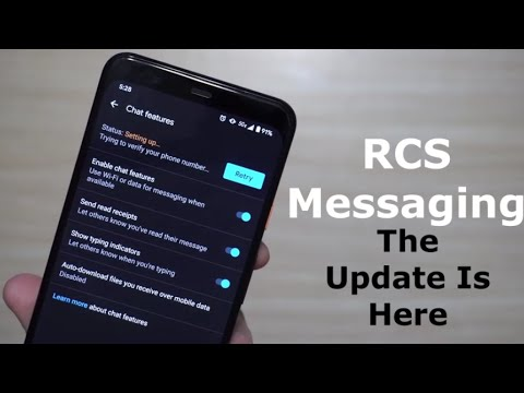 Official Android RCS IMessage Is LIVE For EVERYONE By Google