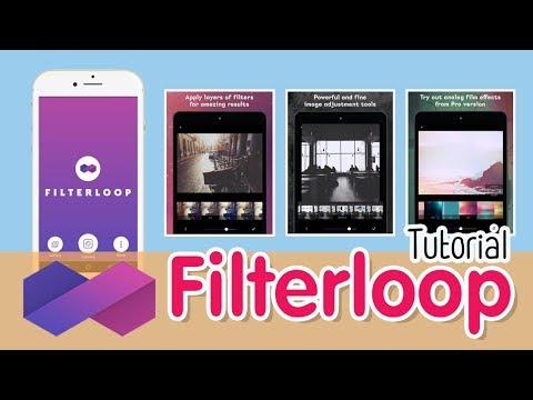 แต งภาพด วยม อถ อ Filterloop Tutorial Youtube