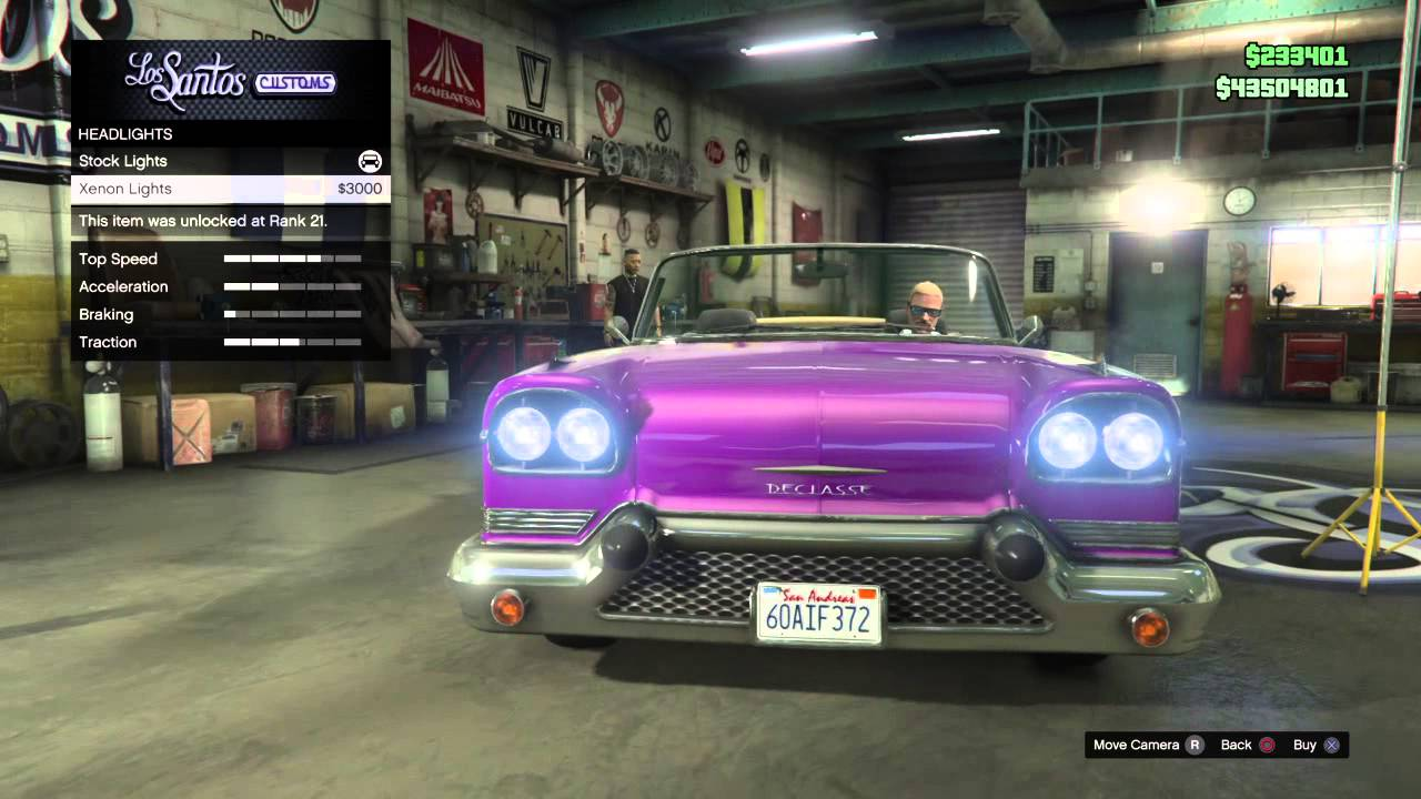 Best Gang Cars To Sell For Cash: Declasse Tornado(Topless) GTA V ...