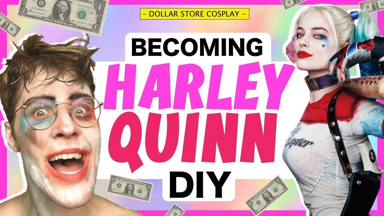 DOLLAR STORE COSPLAY! - HARLEY QUINN
