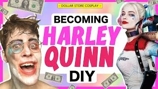DOLLAR STORE COSPLAY! - HARLEY QUINN