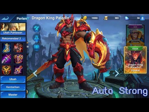 Heroes Arena Arena Pahlawan On Harker Dragon King Paladin And The