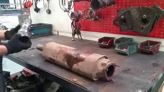 Мойка сажевых фильтров и катализаторов