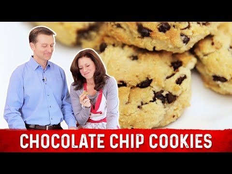 Chocolate Chip Cookies: Low Carb & Keto Friendly