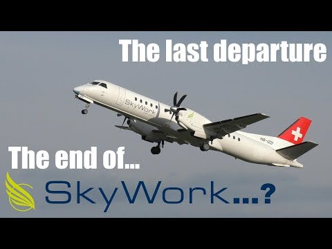 Skywork Airlines: The last flight before the temporary grounding in 2017
