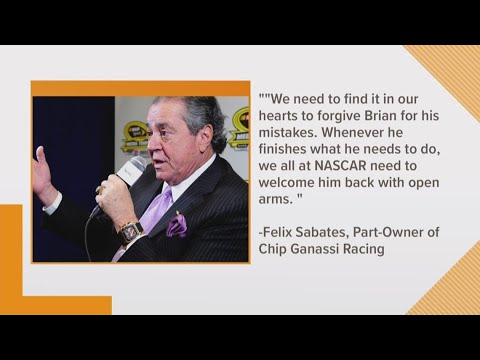 Big NASCAR names react to DWI arrest of Brian France