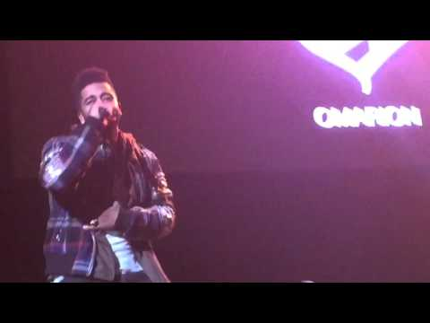 Omarion Live at  Powerhouse NYC 2015