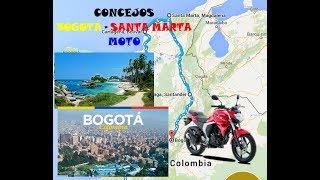 viaje en moto bogot santa marta via al mar ruta del sol