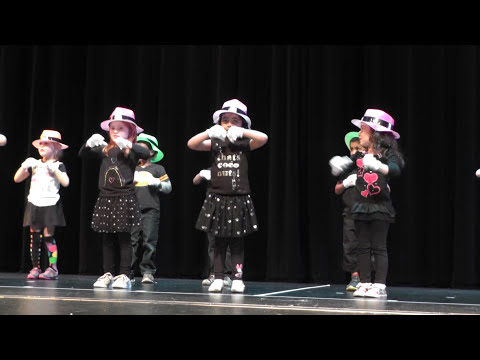 Dynamite (kids performance, with lyrics) - Kiddie Academy Kirkland Pre-K Graduation - 2016