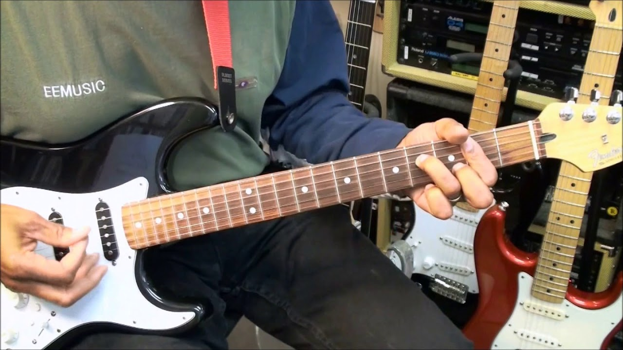 how to play michael jackson on guitar