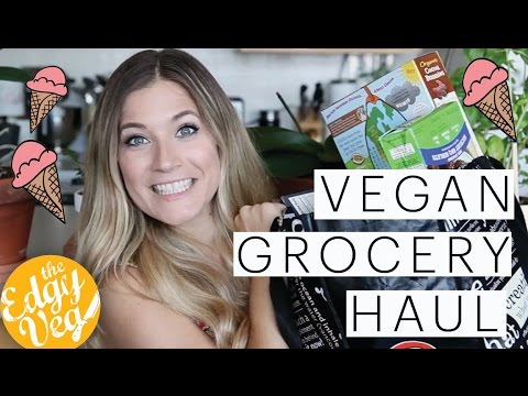 Grocery Haul | AMERICAN VEGAN Food | Morning Star | Jackfruit | Annie's | The Edgy Veg