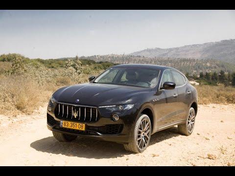 מותג חדש כלכליסט TV - מבחן רכב: מזראטי לבנטה - YouTube XF-63
