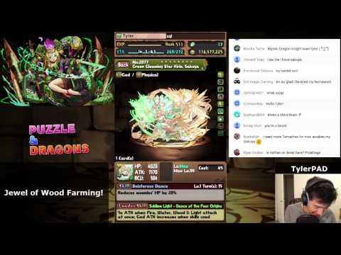 Farming Jewel of Wood Stream!