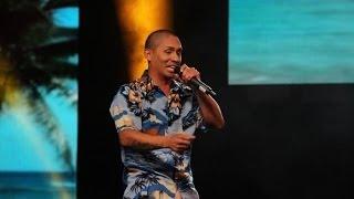 """Yo Soy: René Pérez de Calle 13 entró con actitud con """"Muerte en Hawaii"""""""