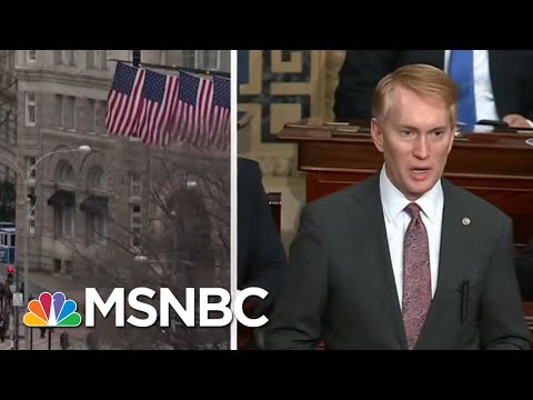 Rioters  Breach Capitol Steps As Congress Debates Vote Count   MTP Daily   MSNBC
