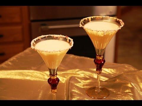 White Chocolate Mint Martini