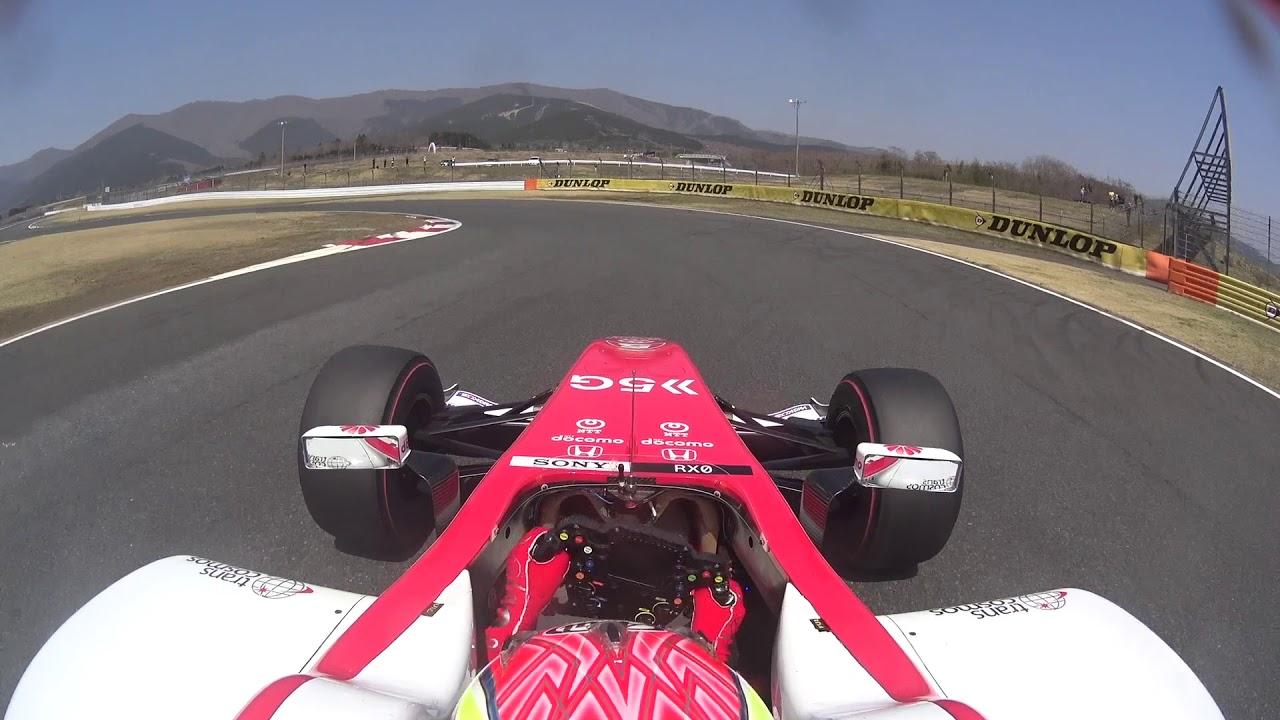super formula test day2 am onboard fuji speedway youtube