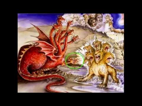 Who is represented by the symbol of the Dragon in the book of Revelation