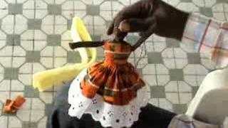 La couture spécialité de l'artisanat sénégalais.
