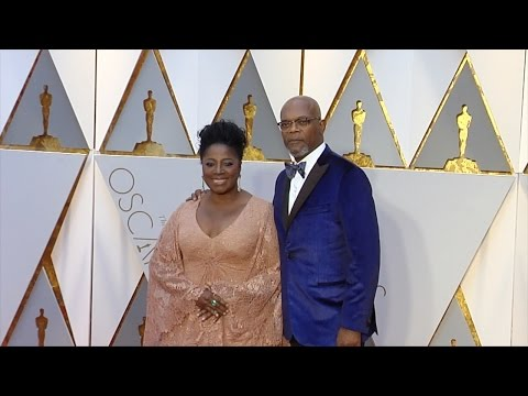 Samuel L. Jackson and LaTanya Richardson 2017 Oscars Red Carpet