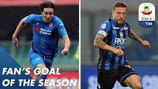 Fan's Goal of the Season | Group B | Serie A