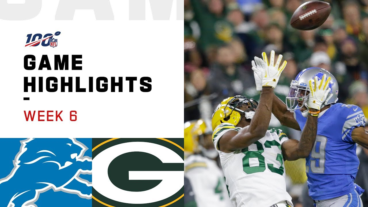 RECAP: Lions vs. Packers