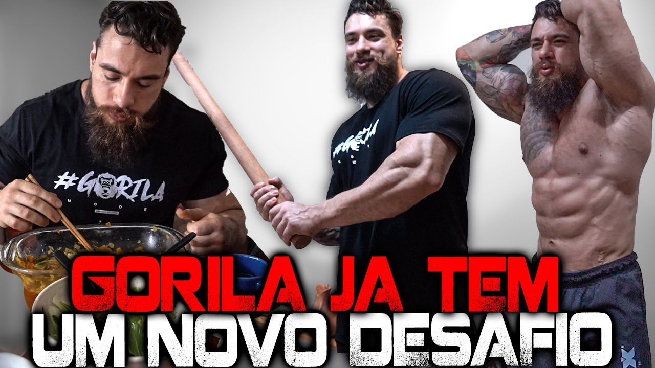 GORILA REVELOU O SEU FUTURO !!!!