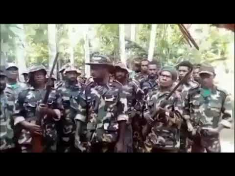 Volunteers of Papua New Guinea join West Papua's armed Struggle for Independence | 8 May 2021