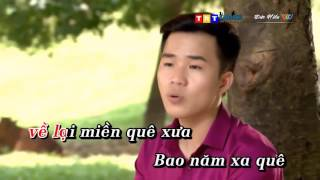 karaoke lời hẹn tình quê beat phu le