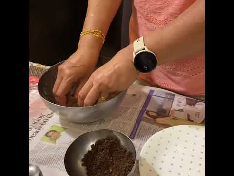 OREO AND MARIE BISCUIT BALLS / Learn how to make Oreo Balls / Cooking without Fire