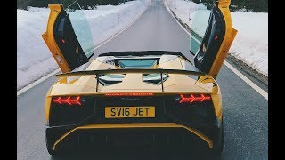 $2,200,000 Supercar Convoy IN SNOW!