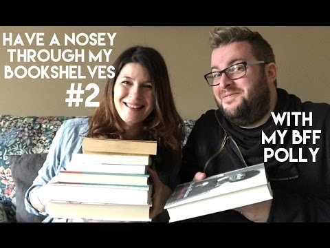 Have a Nosey Through My Bookshelves #2 | With My Best Friend Polly