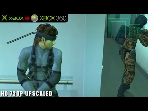Metal Gear Solid 2: Substance - Gameplay Xbox HD 720P (Xbox to Xbox 360)