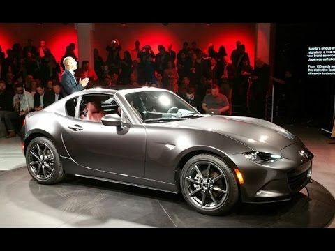2017 Mazda MX-5 Miata RF First Look - 2016 New York Auto Show - YouTube