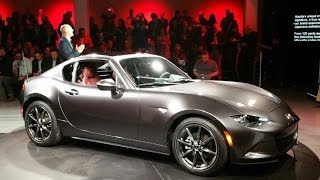 2017 Mazda MX-5 Miata RF First Look - 2016 New York Auto Show