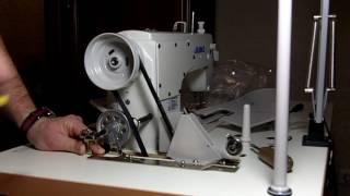 видео Промышленные машины Juki