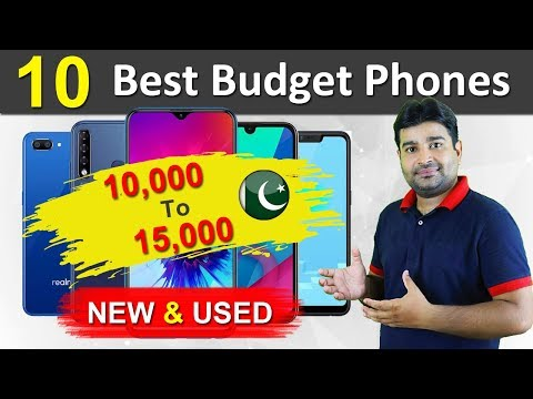 Top 10 Best Smartphones Under 10000 And 15000 In Pakistan 2019 - NEW And USED