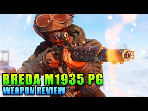 Breda M1935 PG Is Nice! | Battlefield V Weapon Review