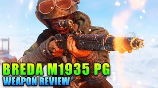 Breda M1935 PG Is Nice!   Battlefield V Weapon Review