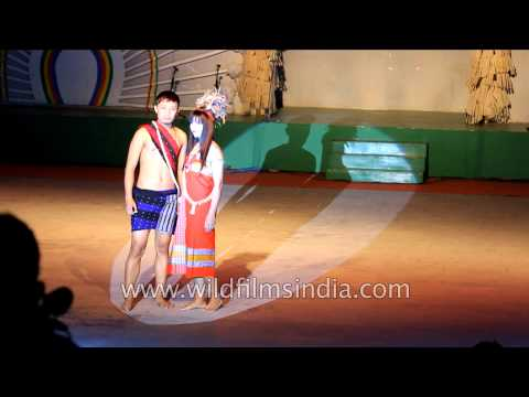 Ethnic show by Anal and Monsang tribe from Chandel district, Manipur