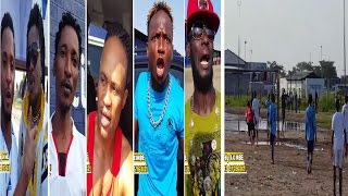 Delondres, Pomba, Kwikwi, Esobe, Brify, etc.. ba beti match contre Lingala Facile ya Zacle