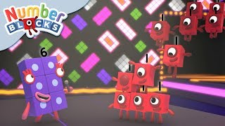 Numberblocks - Numbers in a Crowd | Learn to Count