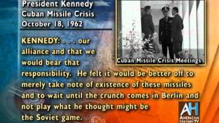 JFK White House Tapes: Cuban Missile Crisis