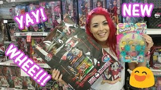 Toy Hunting FOUND NEW Monster High   Shopkins   Inside Out and More