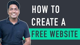 How To Create A Free Website - with Free Domain & Hosting