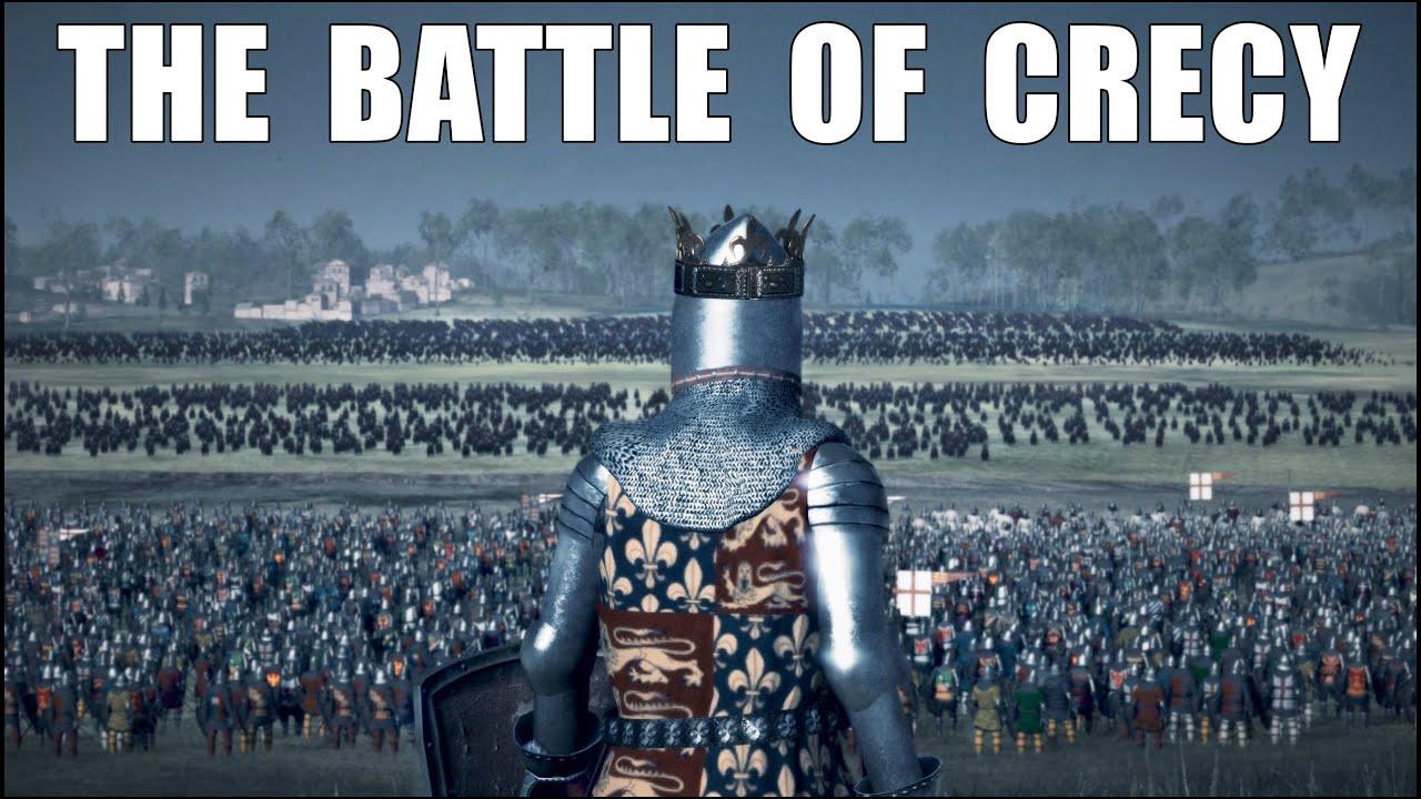 Download THE BATTLE OF CRECY 1346 l ENGLAND vs FRANCE +20.000 UNIT Medieval Kingdoms Mod l 4K l