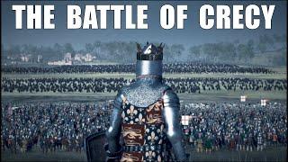 THE BATTLE OF CRECY 1346 l ENGLAND vs FRANCE +20.000 UNIT Medieval Kingdoms Mod l 4K l